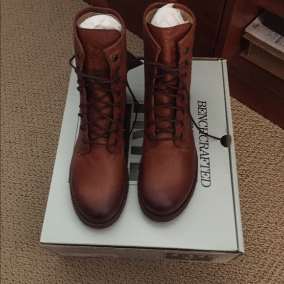 "Frye Shoes - Frye ""Whiskey"" Combat Boots"